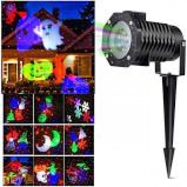 LUZ LED LASER DECORATIVA PARA EXTERIOR O INTERIOR