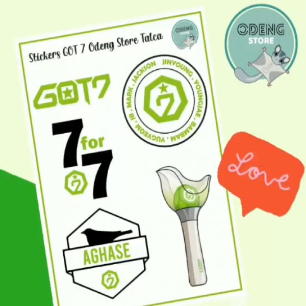 Nuevos Stickers GOT 7 ODENGSTORE