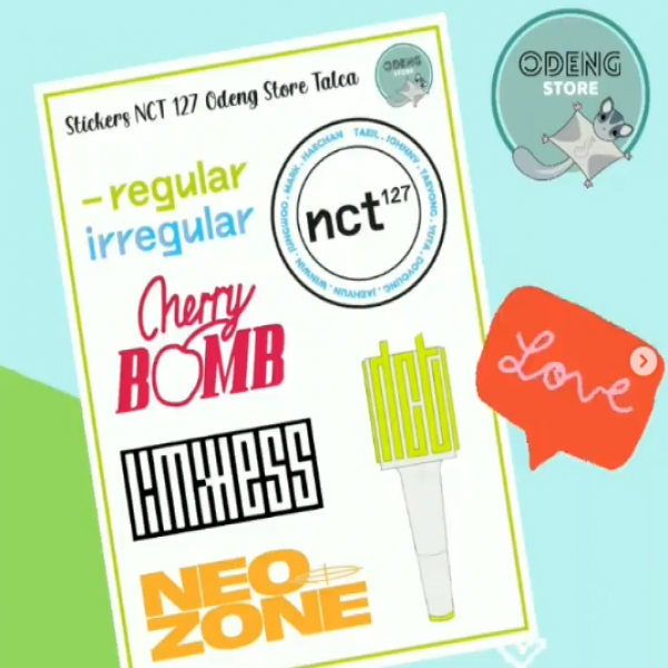 Nuevos Stickers NCT (dream, 127 y u)